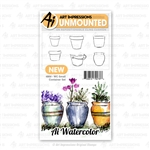 ART IMPRESSIONS WATERCOLOR SMALL CONTAINERS 4869