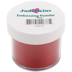 Embossing Powder Red (Seasonal) .5 OZ by Judikins