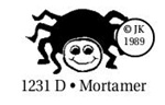 Mortamer the Spider  Wood Mounted  Stamp 1231D by Judikins Great for Halloween