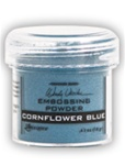 EMBOSSING POWDER 1OZ CORNFLOWER BLUE BY WENDY VECCHI