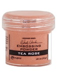 EMBOSSING POWDER 1OZ TEA ROSE BY WENDY VECCHI