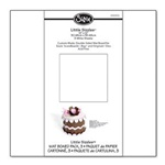 "SIZZIX LITTLE SIZZLES - 12""x12"" MAT BOARD PACK, 3 WHITE SHEETS"