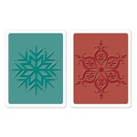 SIZZIX TIEF 2PK - SNOWFLAKES SET BY HERO ARTS
