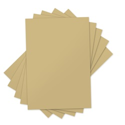 SIZZIX GOLD INKSHEETS TRANSFER FILM 5-SHEETS #660544