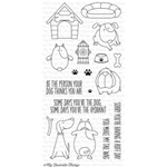 BB You Make My Tail Wag Clear Stamps Set of 18 by MFT
