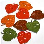 12 Big Color Leaf Quicklets by Eyelet Outlet Great for Thanksgiving