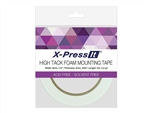 "FOAM MOUNTING TAPE HIGH TACK 1/4"" X 2.2 YARDS BY X-PRESS IT"
