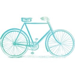 9332839064689 Couture Creations Acrylic Stamp bicycle