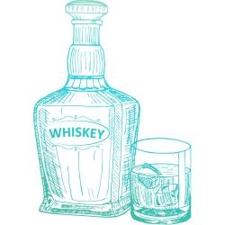 C0726843 Couture Creations Acrylic Stamp Whiskey