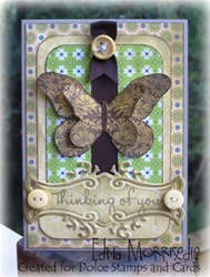 For Art Thou Butterfly Take 2 Card