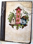 JustRite Birdhouse Journal Card