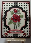 Birthday Rose Card