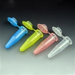 1.5mL Microcentrifuge Tube with attached Snap Cap, Graduated, Clarified Polypropylene 1000/pk - Natural color