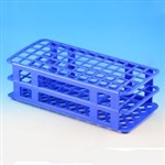 Test Tube Rack, 60-Place for 16mm, Blue