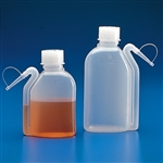 Wash Bottle with Integrated Spout, LDPE 500mL, 10/pk