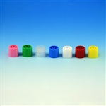 Screw Cap, for Sample Tubes with External Threads - Clear..