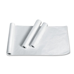 "Table Paper 21"" x 225' Smooth White (12 ROLLS/CASE)"