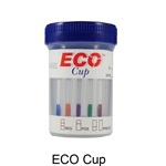 ECO CUP 10 in 1 COC/AMP/mAMP/THC/OPI/PCP/BAR/BZO/MTD/MDMA/PH-SG-OX (25/Kit)