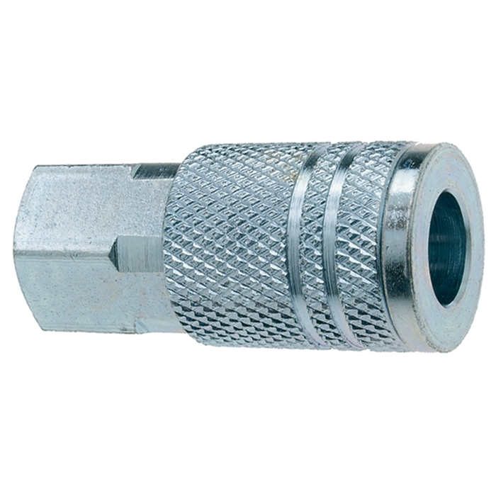 "COUPLER 1/4"" FEMALE <> 100/c"