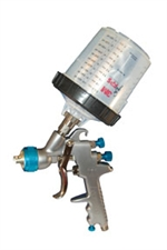 1.5mm Gravity Feed Spray Gun For Use With Base & Clear Coats With Patented 3m? PPS? System