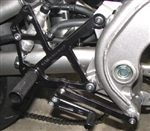 05-0129B - WoodCraft,  Kaw 650R  09-11 complete  - Rearset kit