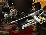 05-0223B - WoodCraft,  SV650/S High'99-02 GP Shift Complete  - Rearset kit