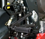 05-0500B - Triumph (06-12) Daytona 675, Street Triple Rearset Kit, STD Shift