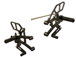 05-0502B - WoodCraft,  Tri 675 - No QS 13-15 STD Shift  - Rearset kit