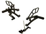 05-0505B - Woodcraft, Tri 675 (No QS) 13-14 GP Shift RACE - Rearset Kit