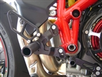 05-0640 - BLACK Ducati 848/1098/1198, 848 Evo Std Shift Only Rear Set Kit