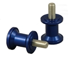 27-0600C - 6mm Swingarm Spools - Blue Anodized
