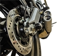 45-0615R - Woodcraft, Ducati  Scrambler / Monster 797 - Rear - Axle Sliders
