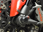 45-0640F - Woodcraft, Ducati 848 Series, Panigale Series, Diavel, Hypermotard, Monster 821/797/1200- Front Axle Sliders
