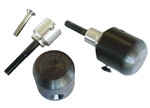50-0140 - WoodCraft,  ZX6RR/ZX636 03-04 Base Assy. Frame Sliders