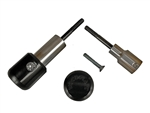 50-0502 - Woodcraft,Triumph 675 13-17 Base Assy. - Frame Sliders