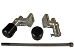 50-0642 - Ducati 848/1098/1198 Under Bodywork Frame Slider Kit