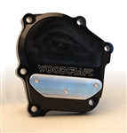 60-0145RB - WoodCraft,  Kaw ZX6/636 03-06, Black Engine Covers