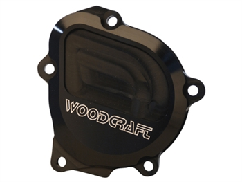 60-0240RB  - Woodcraft, GSXR600/750/1000 (all) Right, Black - Engine Covers