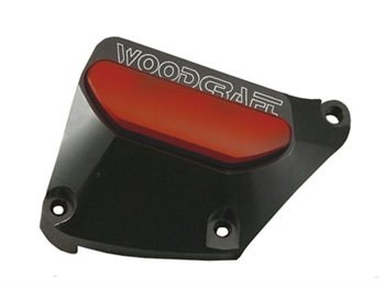 60-0250RB - Woodcraft, GSXR1000 Right (09-16) Black - Engine Covers