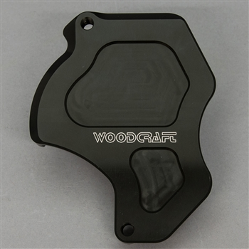 60-0305SC - WoodCraft,  Honda GROM RHS Sprocket Cover,Blk Engine Covers