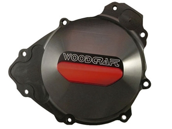 60-0452LB - Woodcraft, Yam R1 (09-14) Left, Black - Engine Covers