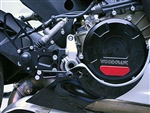 60-0645RB - Woodcraft, Ducati 1199/1299/959  Panigale Clutch Cover, Blk - Engine Covers