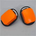 95-0106 - Orange, Rain/Endurance Woodcraft Klucky Pucks, set of 2