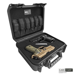 Pack 'N' 2 Handgun Case - Universal Double