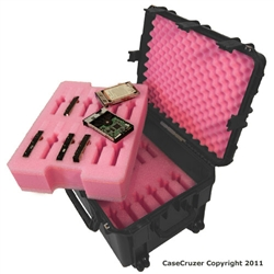 24 Pack Hard Drive Carrying Case