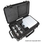 CaseCruzer iPad 6 Pack Carrying Case. (Restocking fee 20%)