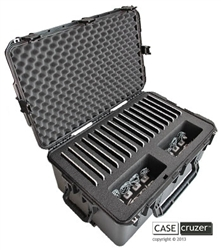 CaseCruzer iPad 16 Pack Carrying Case. (Restocking fee 20%)
