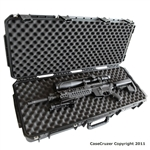 "GunCruzer Universal gun case with interlocking convoluted foam – 36"" in length"