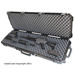 "GunCruzer Universal gun case with interlocking convoluted foam - 50"" in length"