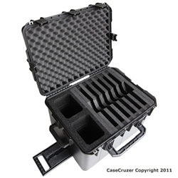CaseCruzer Modular 6 Pack Laptop Carrying Case. (Restocking fee 25%)